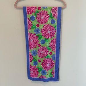 Lily Pulitzer silk scarf